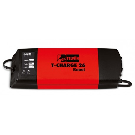CARICABATTERIE TELWIN T-CHARGE 26 BOOST 12V