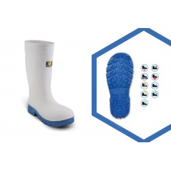 STIVALI EVA+ BOOT WHITE/LIGT BLUE