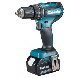 TRAPANO AVVITATORE C/PERC. 18V 13 mm - 50 Nm - BL MAKITA