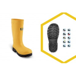 STIVALI EVA+ BOOT YELLOW/BLACK