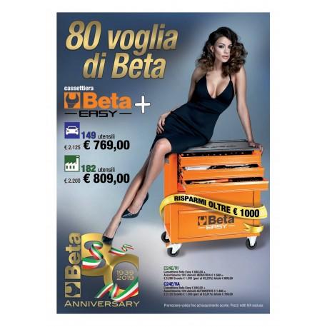 CASSETTIERA BETA EASY 182 UTENSILI INDUSTRIA C24E/VI