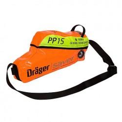 DRAGER SAVER PP15 MASCHERA PIENO FACC. 3lt 200bar 15min.